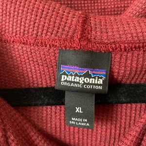 Patagonia Tops - Patagonia Hooded Waffle Tunic Size XL